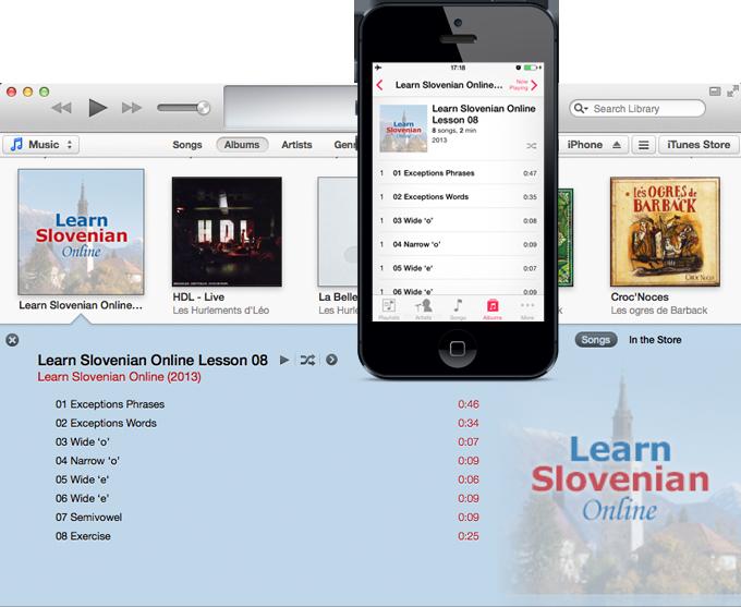 Learn Slovenian Online iphone and itunes screenshot